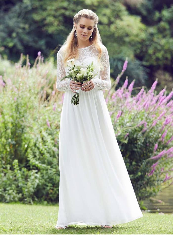 21ec0b3c6ebe A dreamy boho gown that's perfect for a rustic wedding from Dorothy  Perkins, £95