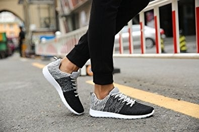 """Promising review: """"I gotta admit these are pretty soft and light, which makes these great for long walks. Miles better than some $60 Adidas shoes."""" —cesar castroGet them from Amazon for $25.99 (available in men's sizes 6.5–11, three colors)."""