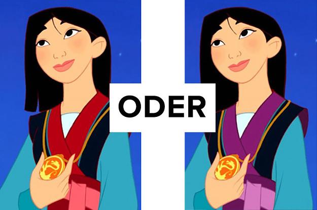 Wie gut erinnerst du dich an die Disney-Farben?