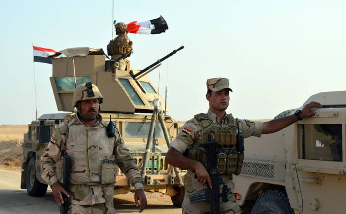 Members of the Iraqi forces continue their operation against ISIS.