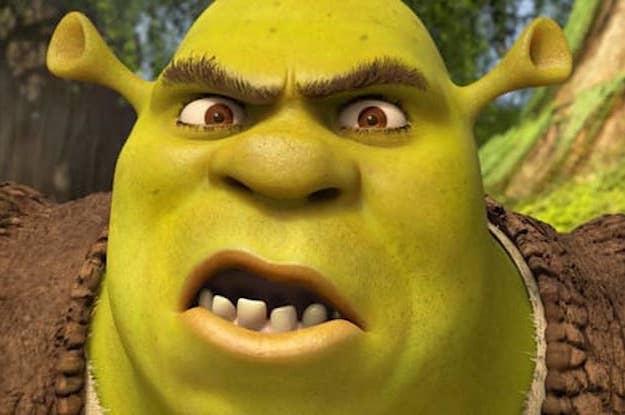 Weird Faces Shrek 8