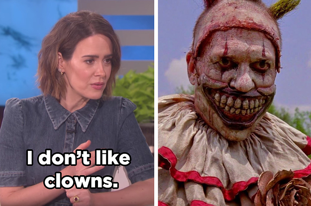 you need to see ellen scaring the living shit out of sarah paulson - Ellen Halloween 2017