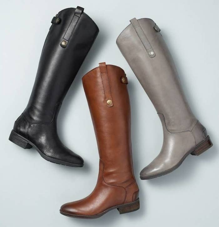 """Promising Review: """"These are the perfect boots! The color is beautiful, and the heel height is EXTREMELY comfortable. Overall, the Sam Edelman Penny Boot gets five stars all around. Stylish, comfortable, and trendy!"""" —GOGETEMGet them from Amazon for $99.95+, Jet for $143.49, or Nordstrom for $149.90 (available in seven colors, sizes 4–13)."""
