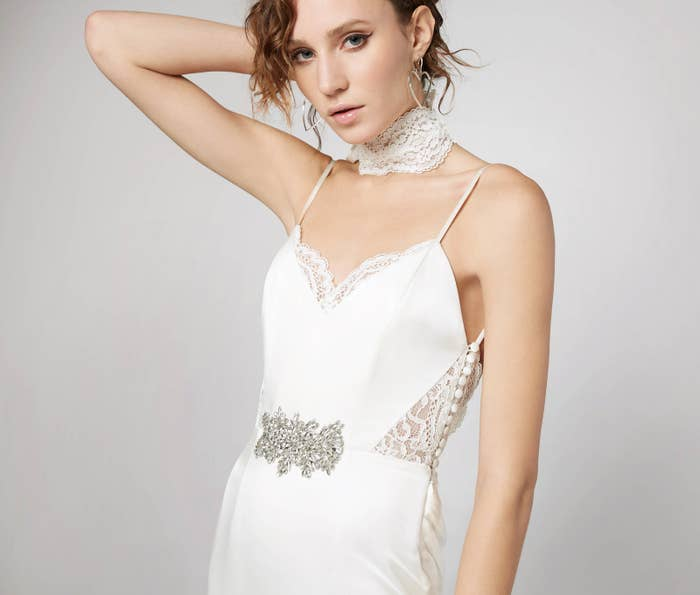 281c3478c4 5. While BHLDN (Anthro s bridal shop) offers some affordable options