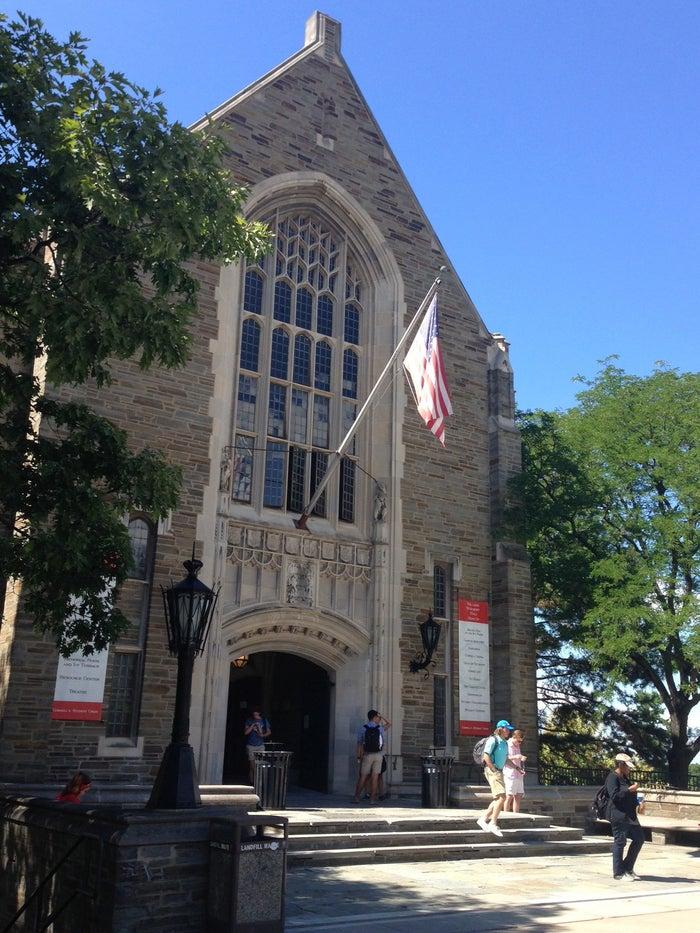 Willard Straight Hall at Cornell University