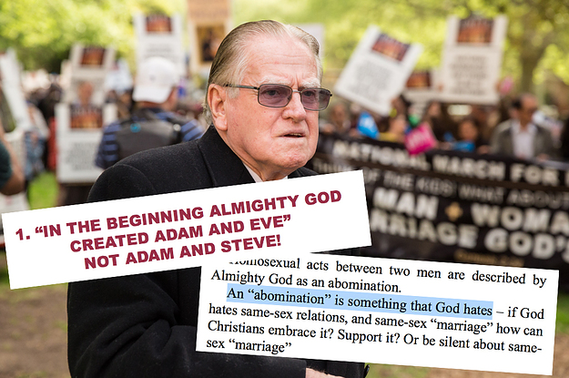 Christian anti homosexuality
