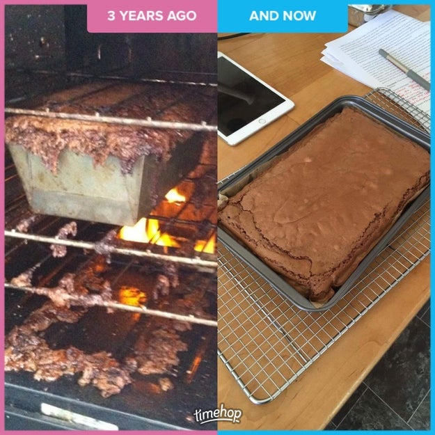 So we want you to show us your baking transformation photos!
