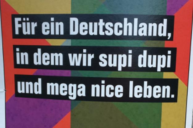 21 Beweise, dass DIE PARTEI die lustigsten Wahlplakate Deutschla... der Welt hat