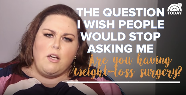 During a recent interview with Today, the 36-year-old Florida native explained why she's sick of people worrying about her weight.