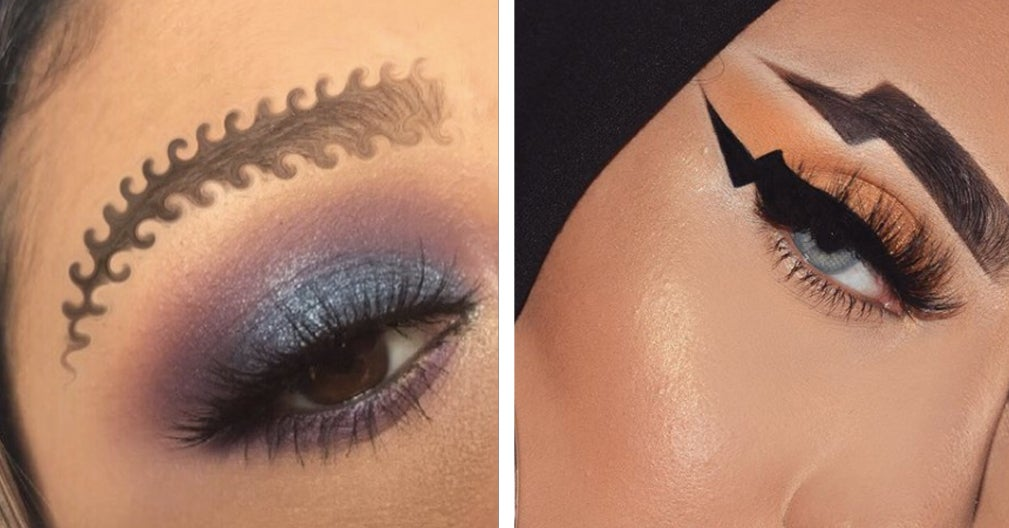 16 Of The Most Interesting Eyebrow Trends To Ever Hit Instagram