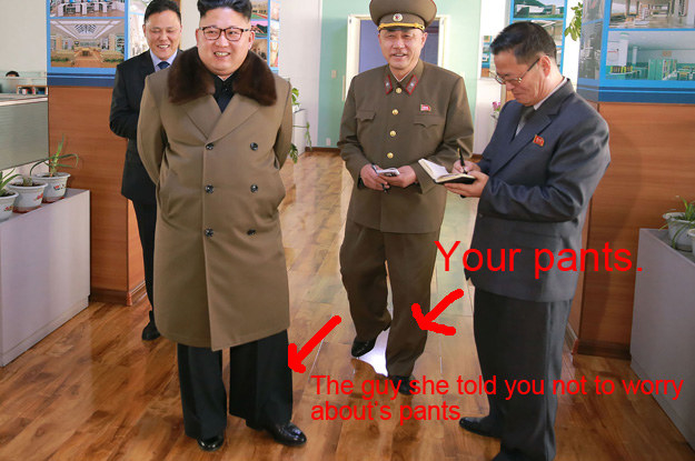 I Think We Need To Talk About Kim Jong Un S Pants Because