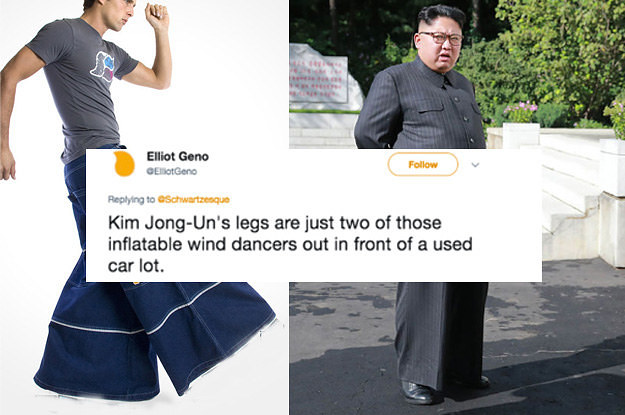 I Think We Need To Talk About Kim Jong Un's Pants Because They Are Amazing