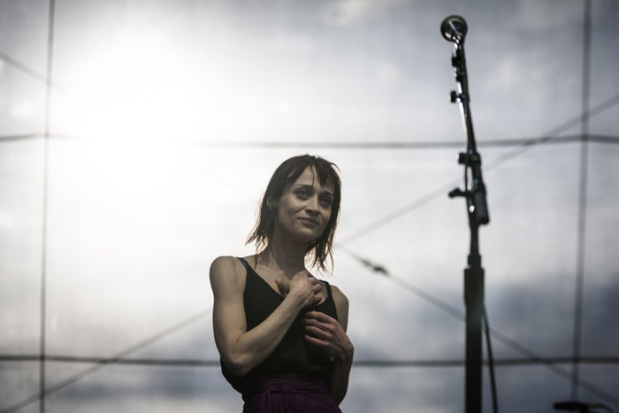 Fiona Apple performs during the Governors Ball Music Festival in New York, June 24, 2012.