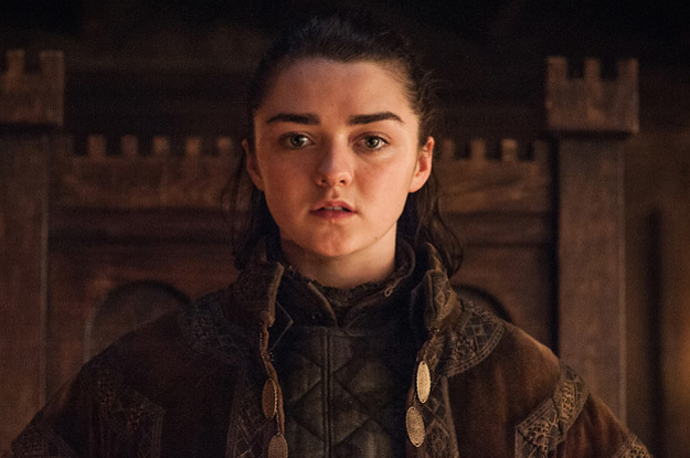"Arya (as In Stark From ""Game Of Thrones"") Has Become One Of The Most Popular Baby Names"