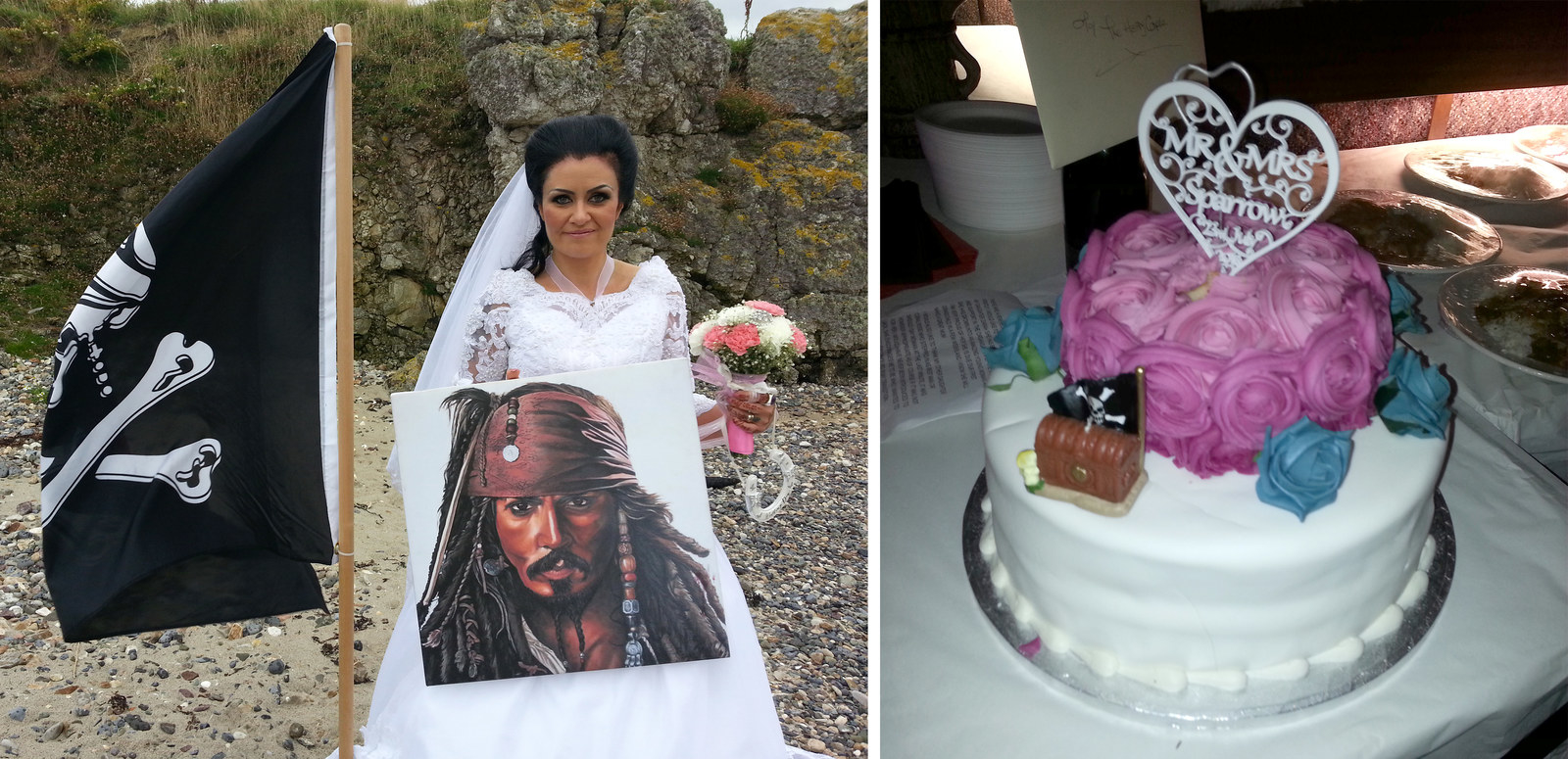 She says she married a pirate's ghost --- and she wants you to stop calling her crazy