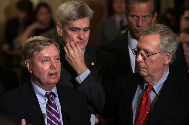 Lindsey Graham And Bill Cassidy Are Getting Ratio'd Like Crazy On Twitter