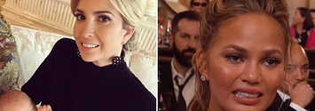 Someone Get Ivanka Trump Some Aloe, Because Chrissy Teigen Just Burned Her On Twitter