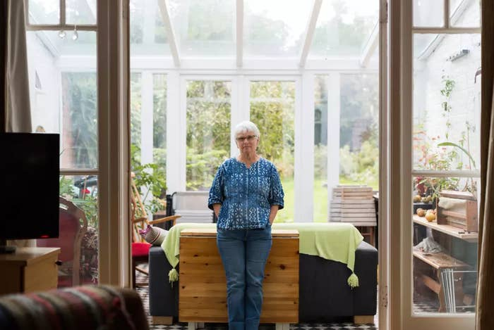 Kathy Galashan, who hosts refugees in her north London home.