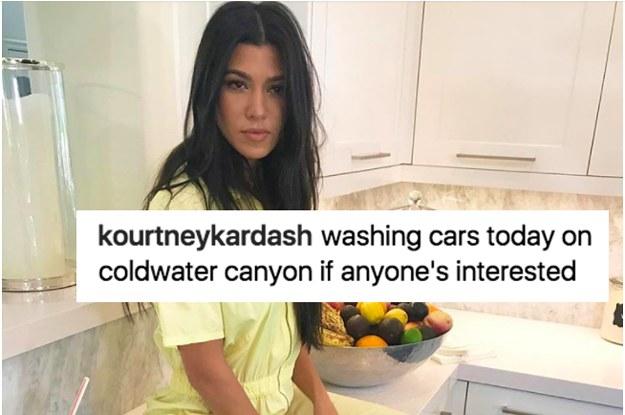 22 Times Kourtney Kardashian Was Actually Really Fucking Funny On Instagram