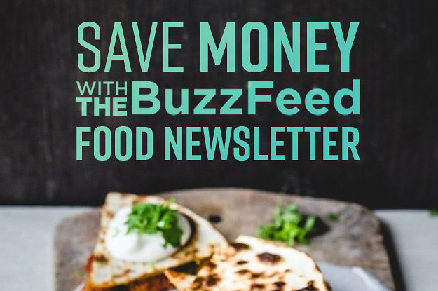Cook Dinner For Less With The BuzzFeed Tasty Newsletter!