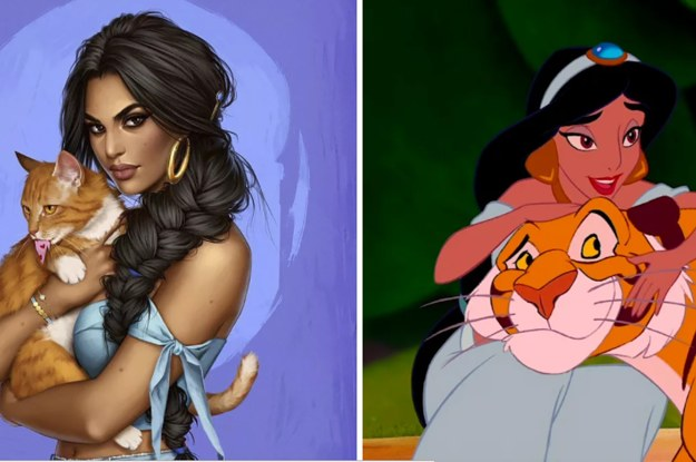 This Is What Disney Princesses Would Look Like In 2017