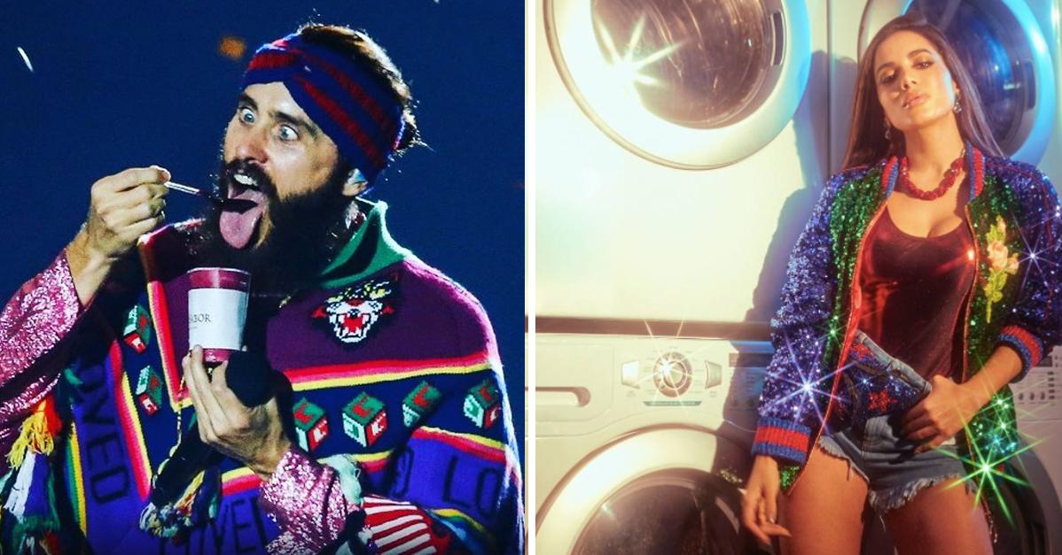 Escolha uma peça do look do Jared Leto no Rock in Rio e diremos qual roupa é você