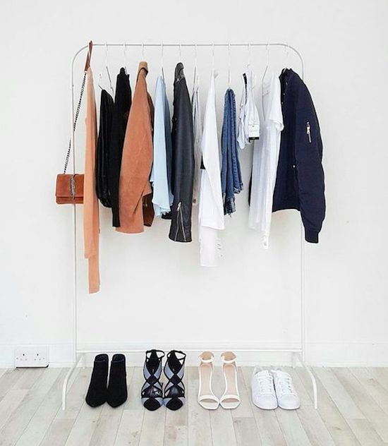 Stained? Doesn't fit? Only worn it once in the last year? Goodbye. Learn more style tips like this from Design Love Fest.Read our closet-organizing tips here.