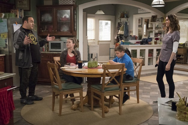 Then, in August, CBS's senior executive vice president of programming, Thom Sherman, revealed that Hayes' character would be killed off and there would be a time jump to show Kevin, the character, adjusting to life as a single dad.