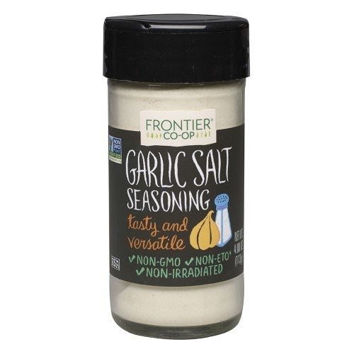 Salt is the foundation of flavor and garlic makes everything taste better, so you can — and should — literally put this stuff on everything. And feel free to spice it up (hardy-har) with a variety of flavor combos: Coarse ground garlic salt with parsley works great on eggs, or try bourbon smoked garlic salt if you're into getting smoky barbecue flavor without having to fire up (or clean) your grill. Get garlic salt from Jet for $4.30; garlic salt with parsley from Jet for $4.23; and bourbon smoked garlic salt from Amazon for $9.