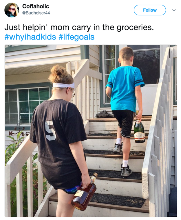 This mom who is teaching her kids what
