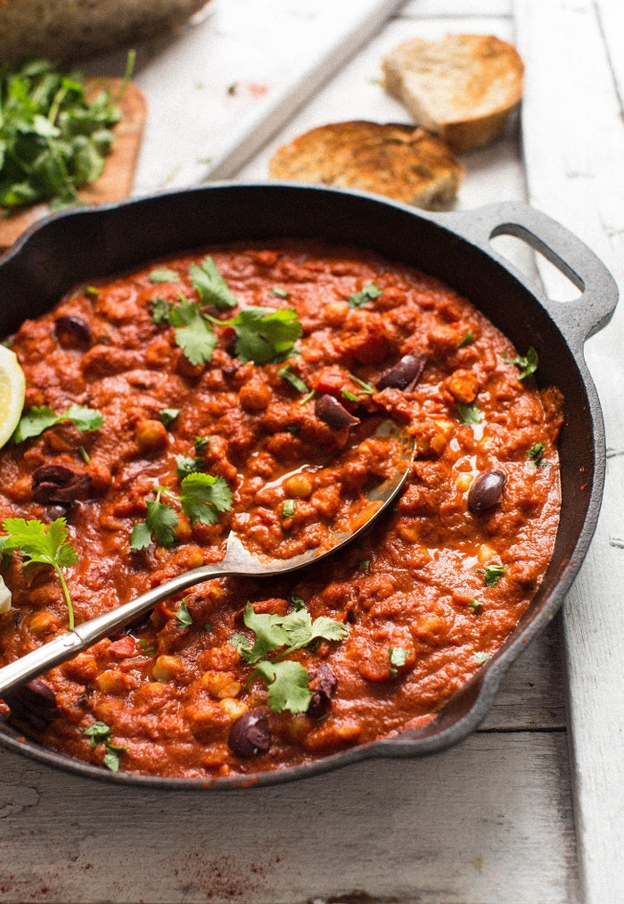 Shakshuka for breakfast, brunch, and dinner. Get the recipe.