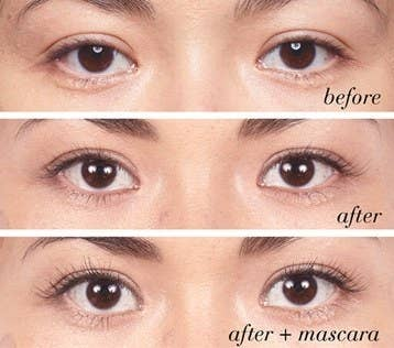 554942dae34 This woman has been using the Rodan + Fields Lash Boost for the past nine  weeks and the results will make anyone a believer.