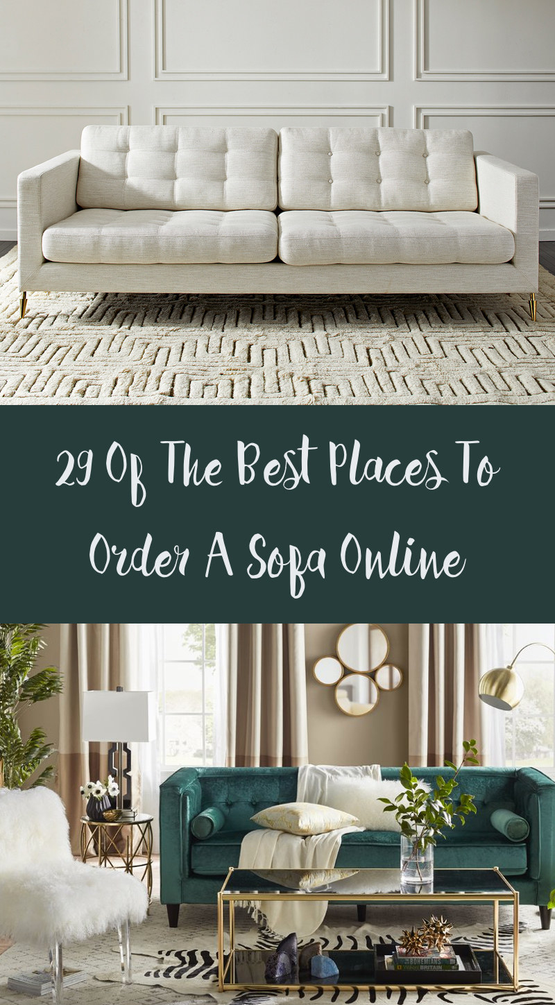 29 of the best places to buy a sofa online. Black Bedroom Furniture Sets. Home Design Ideas