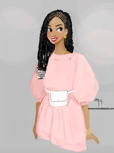 Cette Illustratrice Souhaite Donner Une Nouvelle Image Des Femmes Noires
