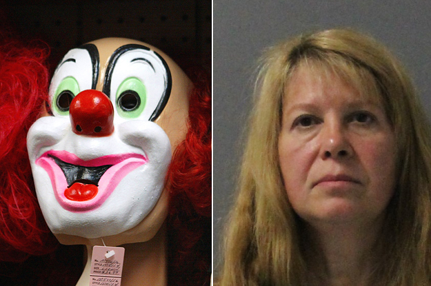 A Woman Allegedly Committed A Murder Dressed As A Clown, Then Married The Victim's Husband
