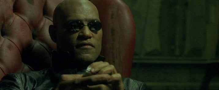 "Despite there being countless ""What if I told you..."" memes, and several people saying they specifically remember it being a line, at no point in any of The Matrix trilogy does Morpheus say that."
