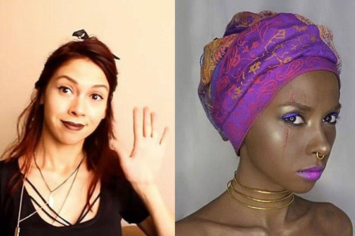A Makeup Artist Created Blackface
