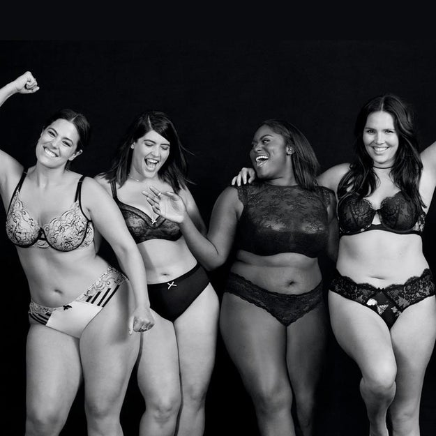 Lane Bryant has always celebrated diverse body types by creating gorgeous clothes and lingerie that make curvy women feel beautiful and sexy in their skin.