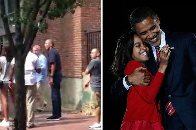 Barack Obama Cried When He Dropped Malia Off At College