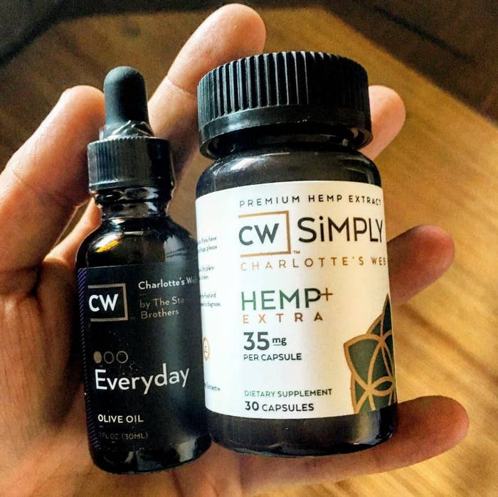 """You might be asking yourself, """"WTF is a hemp extract???"""" And luckily, I am here to help. CBD (Cannabidiol) is a non-psychoactive cannabinoid. And a cannabinoid is a chemical compound found in a hemp plant. Basically, it's derived from the same plant that makes classic marijuana but doesn't give you the feeling of being high, because it's non-psychoactive."""