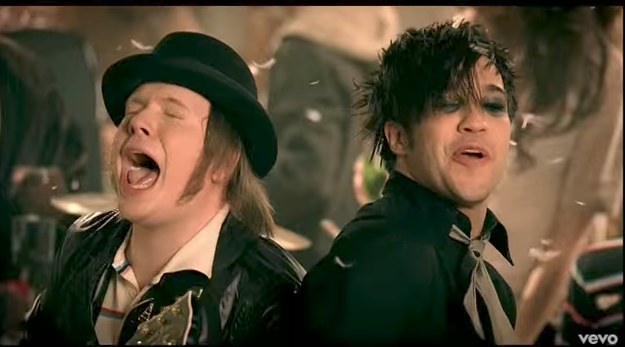 Back in 2007, My Chemical Romance were still together, Panic! At The Disco had their original line up, and Fall Out Boy had just released their third album Infinity On High.