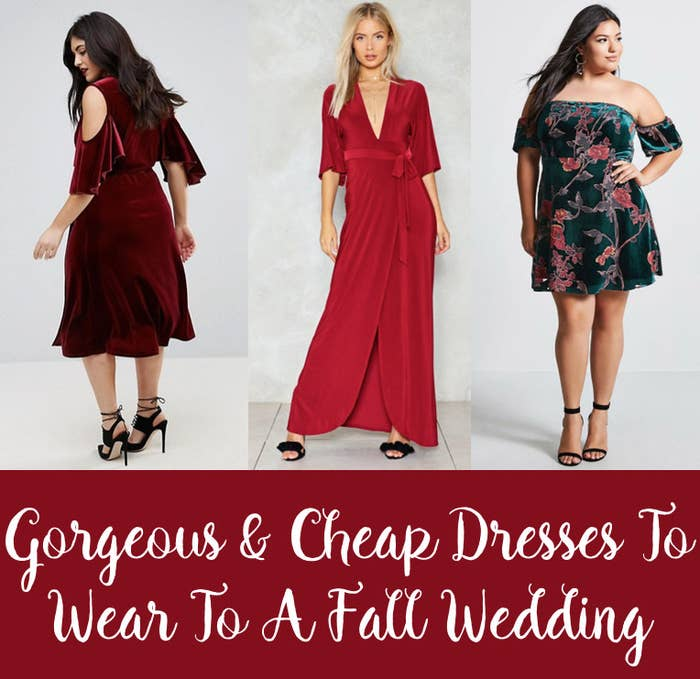 d20b201ff298 Absolutely Stunning (And Cheap!) Dresses To Wear To A Fall Wedding