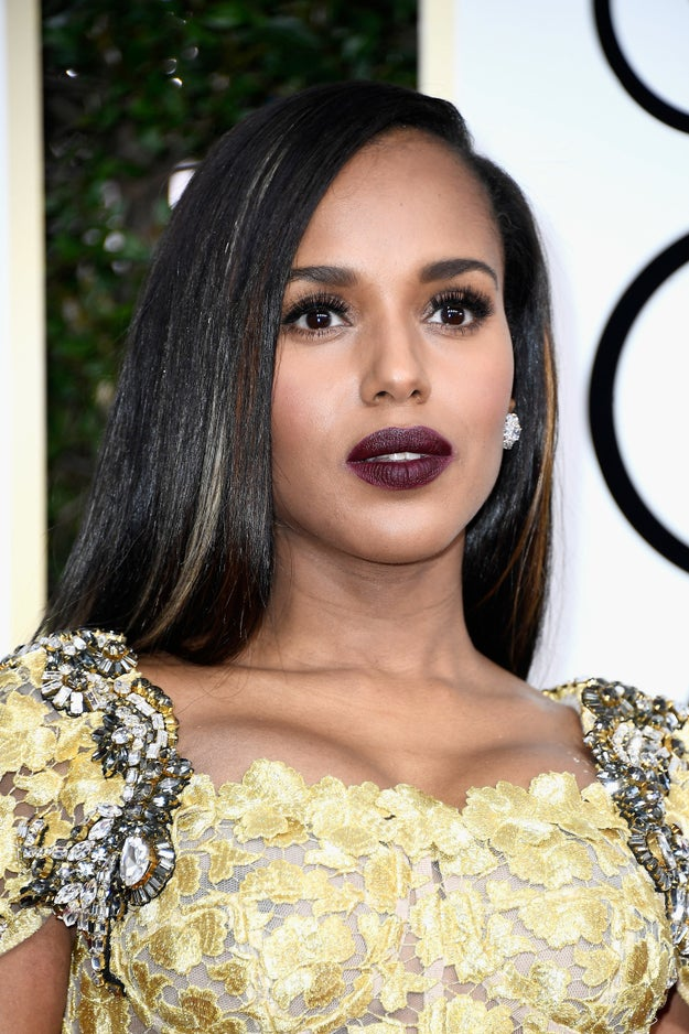 *sigh* Talented, genius, AND gorge AF?! We're here for every single one of Kerry Washington's wins.