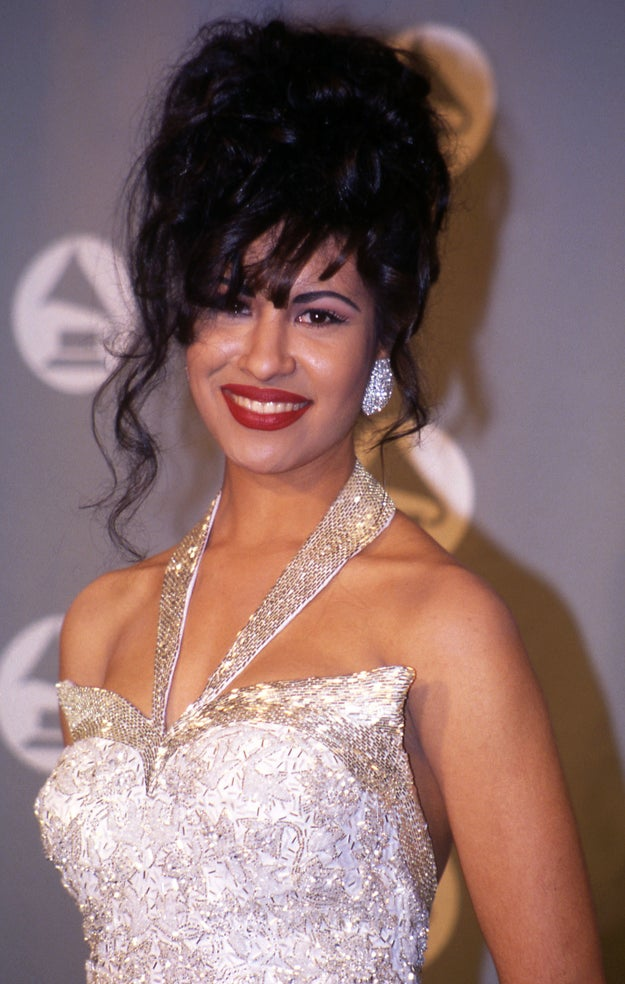 """""""You gon' get these perfectly full lips today!"""" —Selena Quintanilla, probably. #QUEENFOREVER"""