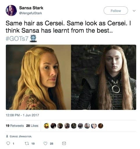 Sansa has been the biggest example thus far.