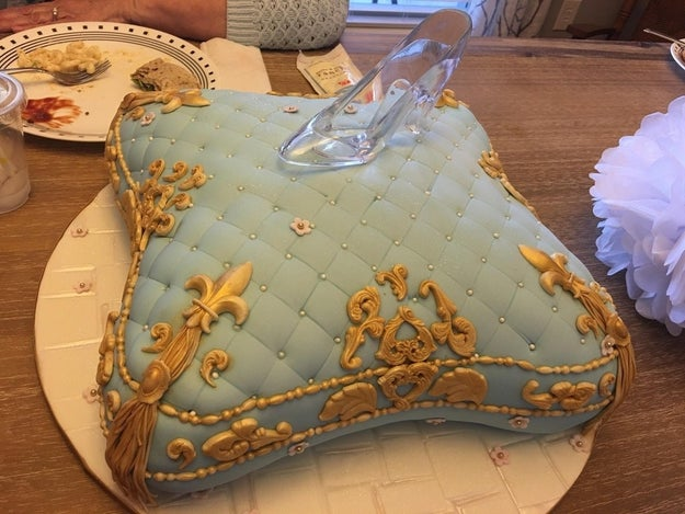 This Cinderella cushion cake that's worthy of royalty.