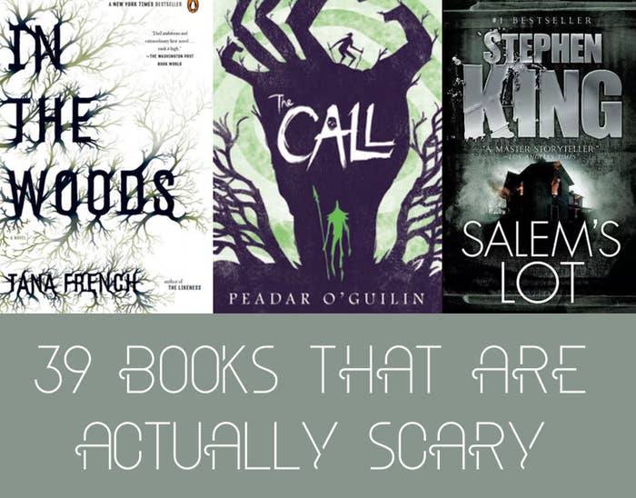 39 Books That Are Actually Scary