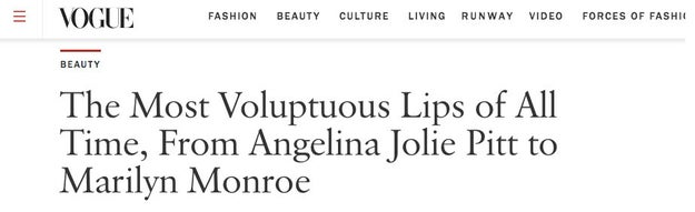 """Full lips are a """"thing"""" as of the last few years because mainstream media is late, per usual, to realizing how beautiful they are. But plump pouts have always been a mark of beauty, and there are plenty of receipts to prove it."""