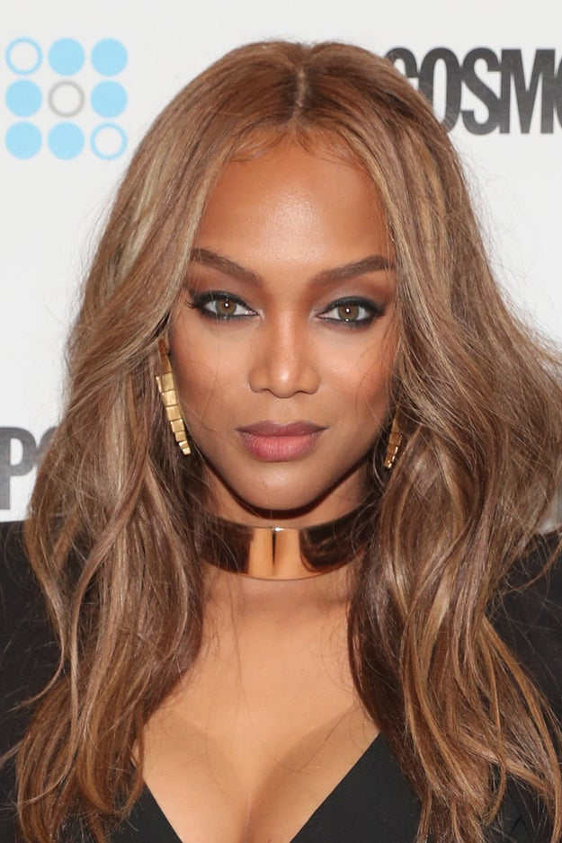 Tyra's smize and pout have forever been on lock.