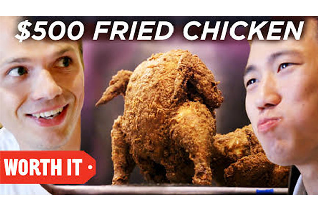 Funny Fried Chicken Pictures: We Ate Fried Chicken Priced At $16.95 To $500 To See Which